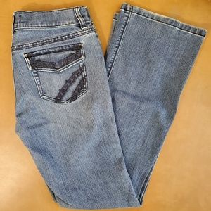 White House Boot Leg Jeans Size 4 Reg